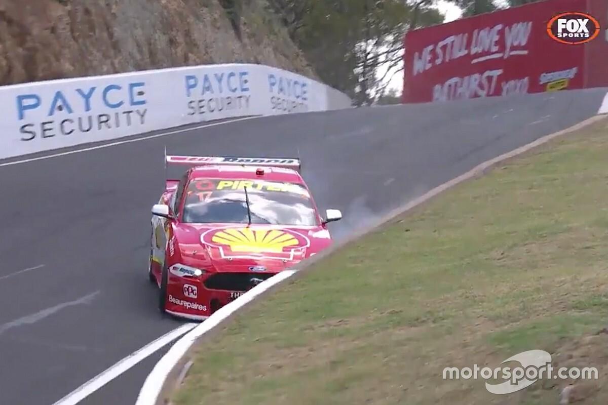Bathurst 1000: McLaughlin crashes after going fastest