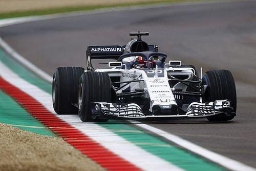 """Após teste com AlphaTauri, Tsunoda diz que guiar carro da F1 foi """"fácil"""""""