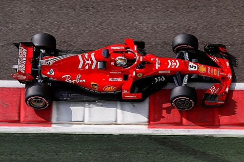 Vettel tops first day of testing, trouble for Raikkonen