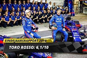 Eindrapport Toro Rosso: Zesje voor wisselvallig eerste jaar met Honda