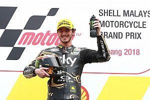 Marini gana en Sepang y Bagnaia se convierte en campeón de Moto2