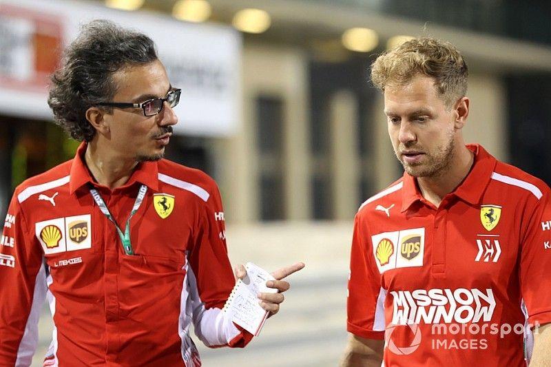 Mekies comienza a trabajar como director deportivo de Ferrari
