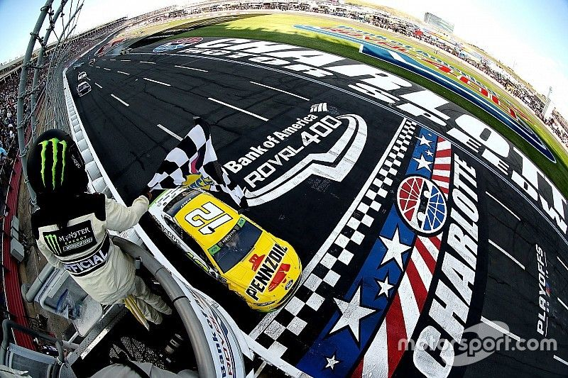 Eye In The Sky: Tho duo who guided Ryan Blaney to victory at the Roval