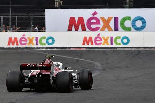 Fotogallery: l'Alfa Romeo Sauber nel Gran Premio del Messico