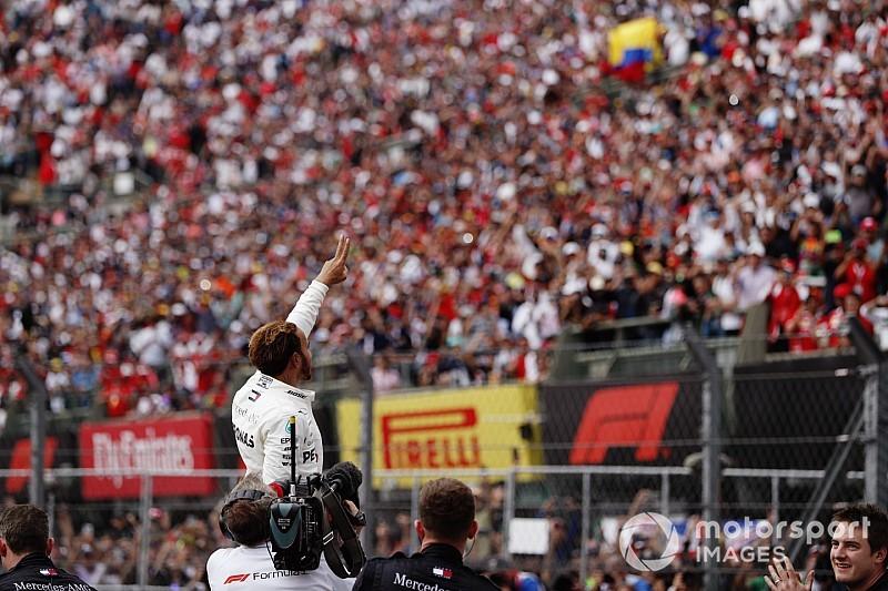 Hamilton es pentacampeón del mundo de F1 y Verstappen gana en México