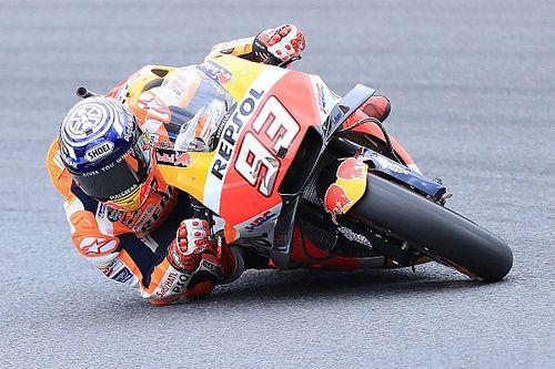 Marquez ikinci motosiklette rahat hissetmemiş