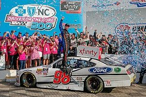 Chase Briscoe earns first Xfinity win in inaugural Roval race