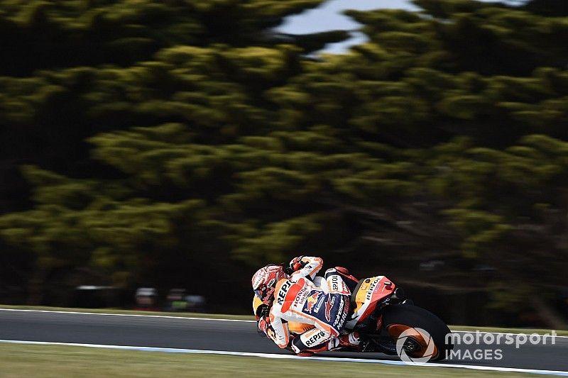 Australian MotoGP: Marquez edges Vinales in FP3