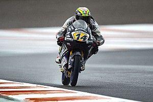 Moto3 Valencia: Arbolino pole, Atiratphuvapat baris depan