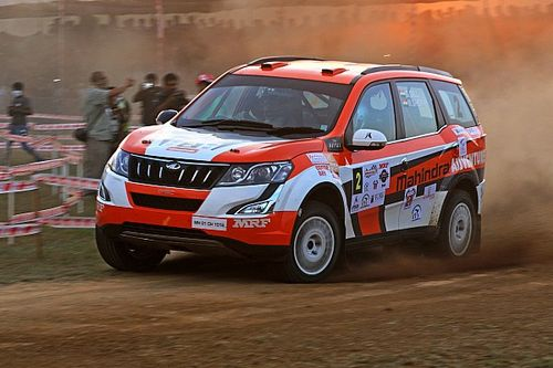 Chikmagalur INRC: Gill leads by 0.4s after Day 1