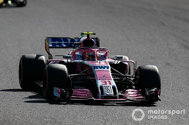 Ocon : Mercedes attendait des gains notoires en qualifications