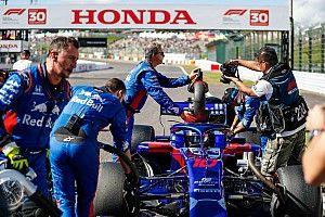 Honda n'a pas pu modifier le moteur de Gasly avant la course