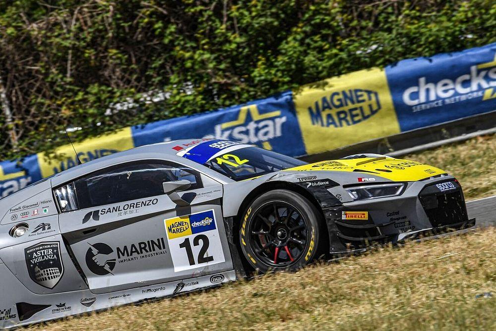 GT Italiano: Audi trionfa alla prima Endurance di Pergusa