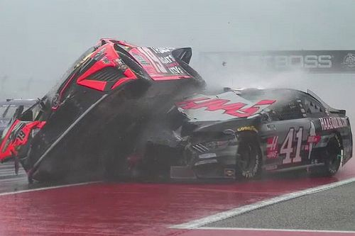 Harvick 'never felt more unsafe' after racing in the rain at COTA