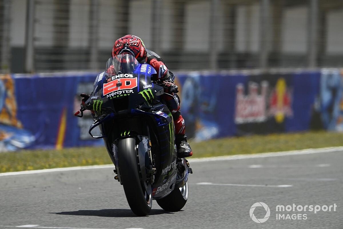 MotoGP: Quartararo se sente bem para GP da França após operação