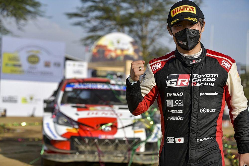 "Toyota president left ""shaking"" after breakthrough Katsuta podium"