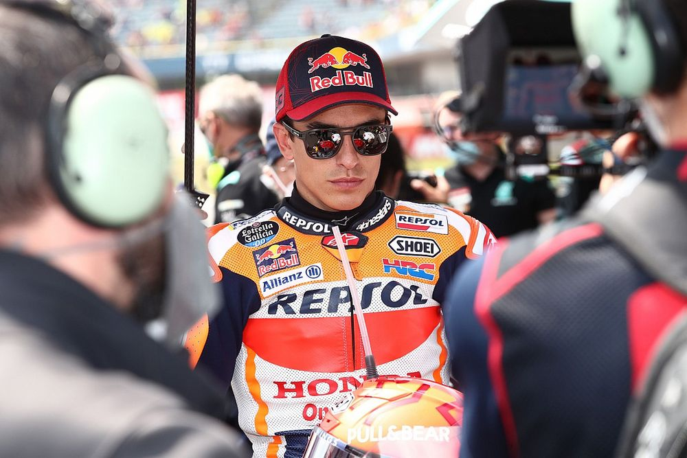 "Marquez hopes to increase bike training ""if arm permits"""
