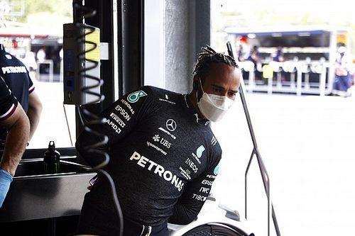 """Hamilton: """"No sé realmente por qué estamos donde estamos"""""""