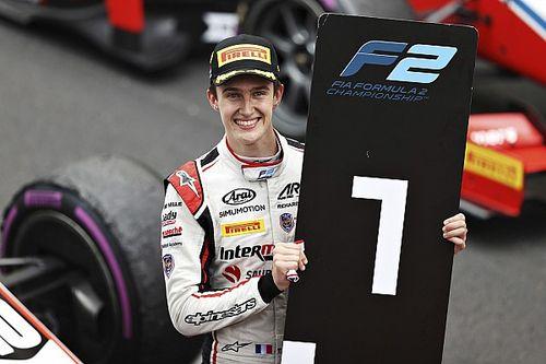 Pourchaire se convierte en el ganador más joven de la F2
