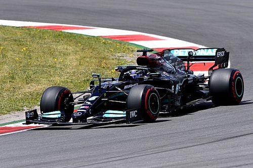 Hamilton voor Verstappen in tweede training GP van Portugal