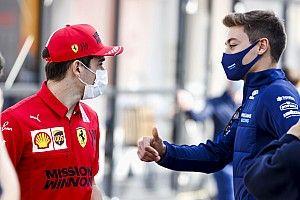 Leclerc, Russell'a kendisine çok fazla baskı yapmaması tavsiyesinde bulundu