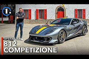 Ferrari 812 Competizione, l'abbiamo vista (e sentita) dal vivo