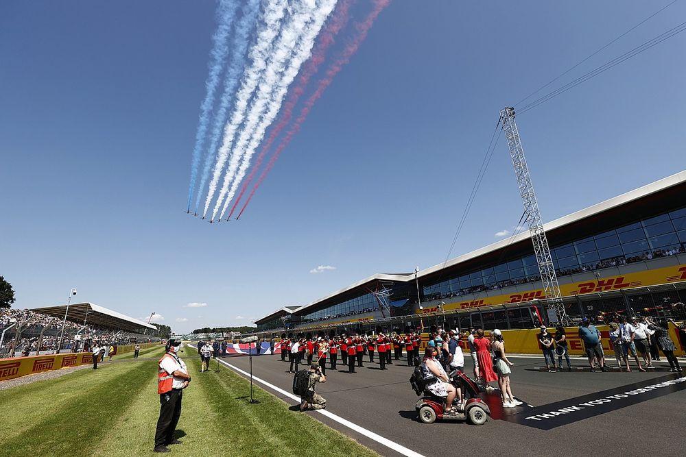 Defensie schrapt fly past tijdens Dutch Grand Prix