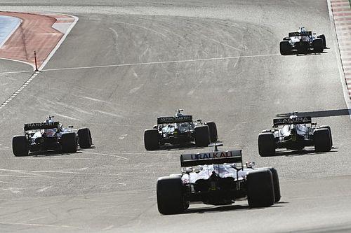 Положение в общем зачете Формулы 1 после Гран При США