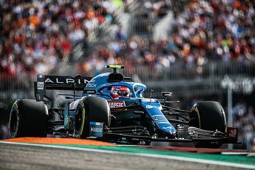 Ocon: Hobbelig Austin op het randje voor de Formule 1