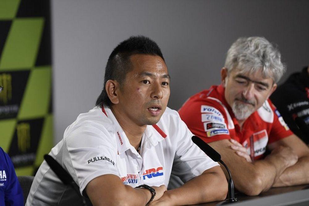 Wer letzte Nacht am schlechtesten geschlafen hat: Takeo Yokoyama (Honda)