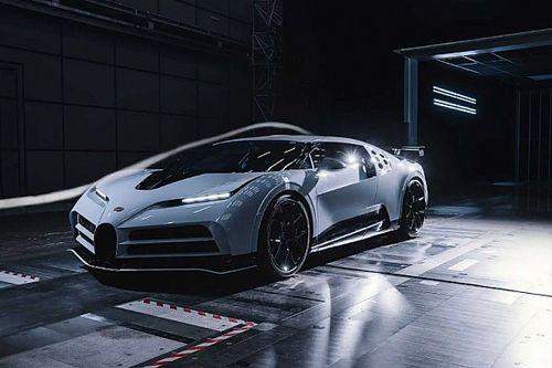 Vége a hiperritka Bugatti Centodieci szélcsatornás tesztjeinek