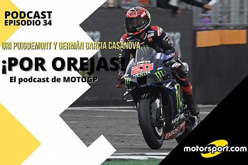 "Podcast MotoGP 'Por Orejas' – ""Quartararo asesta un zarpazo al Mundial"""