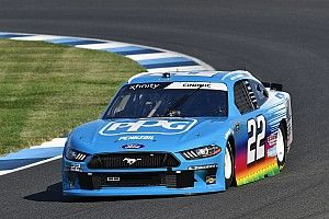 Austin Cindric tops Xfinity practice at Indy Road Course