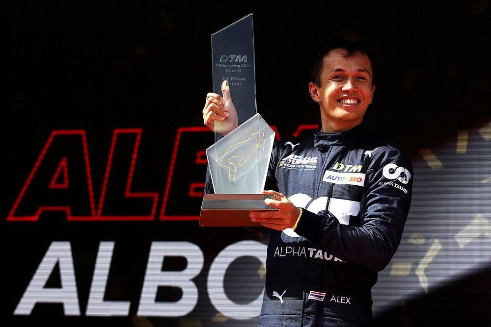 DTM Nurburgring : Albon, hafta sonunun ikinci yarışında serideki ilk galibiyetine ulaştı