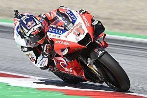 La pole position de Jorge Martín résulte aussi de l'aide de Johann Zarco