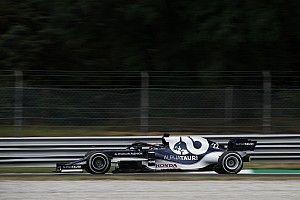 F1イタリアFP1速報:ハミルトンがフェルスタッペンに0.4秒差つけトップ。角田裕毅は14番手