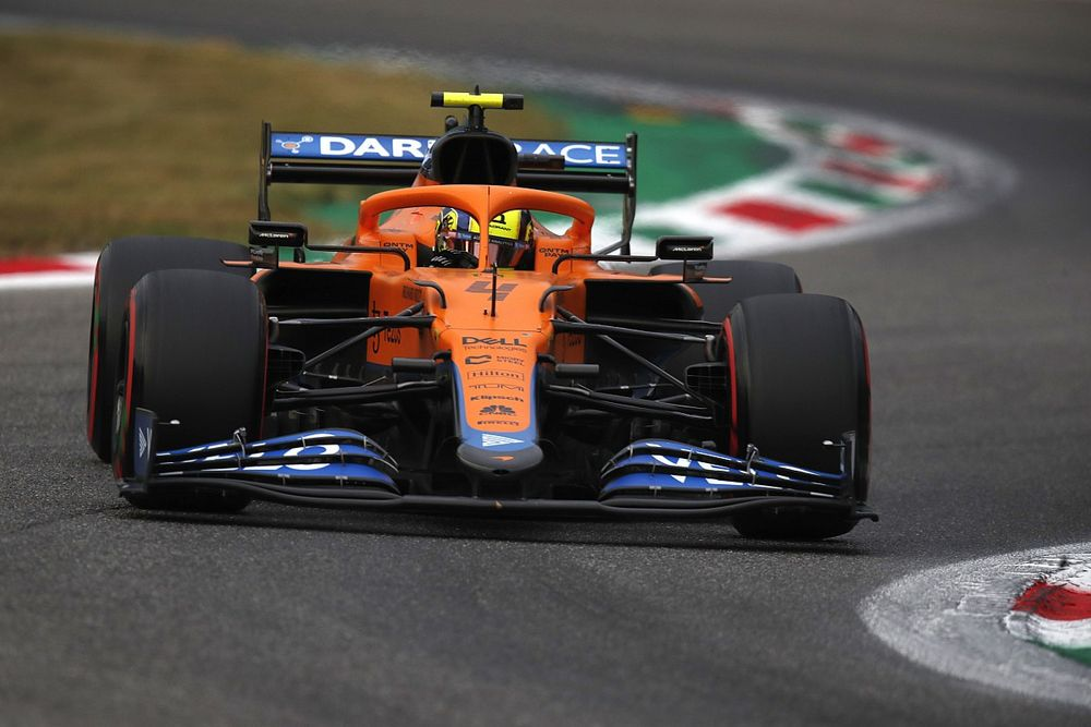 McLaren: obiettivo podio per Norris soddisfatto