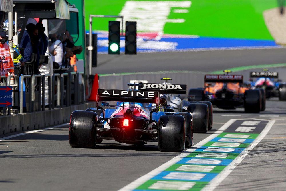 Why F1 drivers were allowed to cause Dutch GP pitlane traffic jam