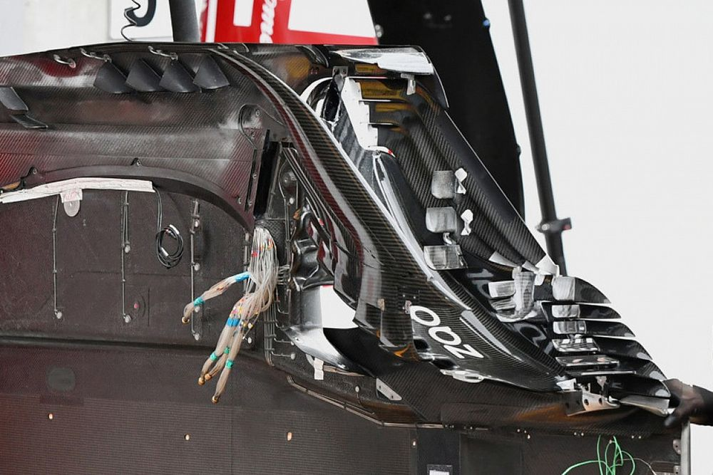 Formel-1-Technik: Detailfotos beim Belgien-Grand-Prix 2021