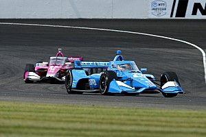 Palou stays positive on IndyCar title hopes despite IMS engine failure