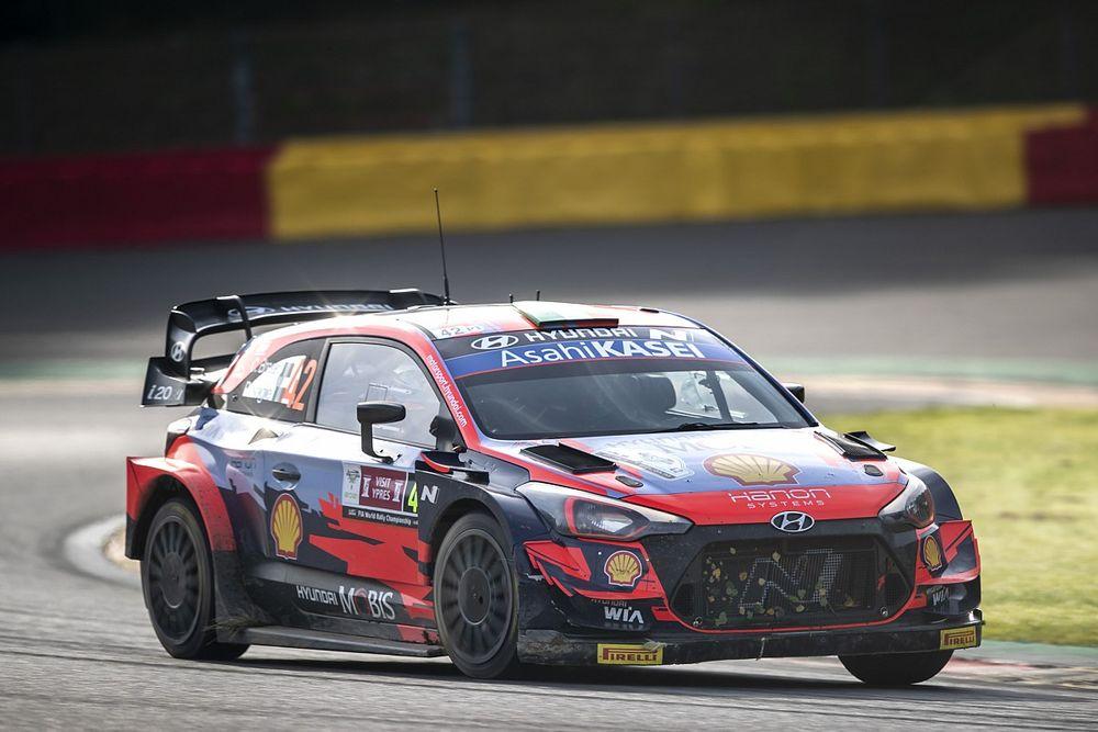How Belgium's unusual wet summer helped Breen secure a WRC podium