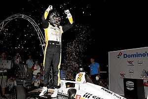 Newgarden back in title fight with second win of 2021