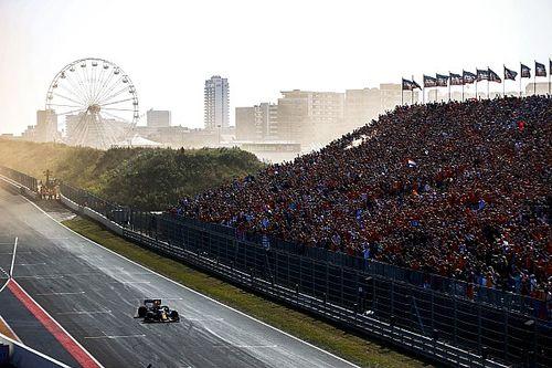 Las imágenes más espectaculares del brutal GP de Países Bajos