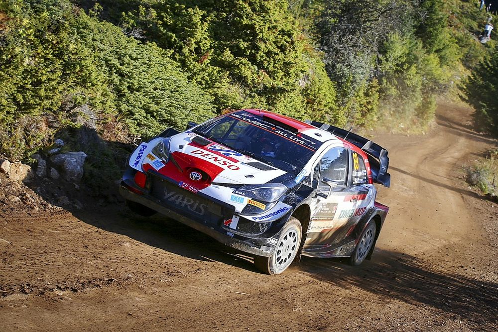 WRC Greece: Rovanpera in control as Tanak issues mini fightback