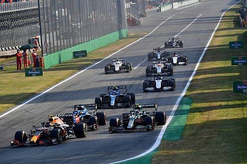 Así fue la carrera de locura de la F1 en Italia 2021