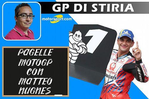 Pagelle MotoGP: Martin da 10, bocciati Bagnaia e Miller