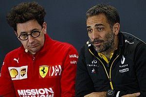 Renault insiste: il faut plus de clarté sur l'accord FIA-Ferrari