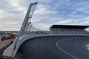 Revealed: First images of Zandvoort's completed banking