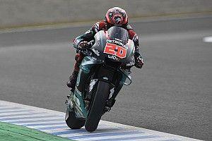 MotoGP, Sepang, Libere 1: Quartararo record nell'1-2-3 Yamaha