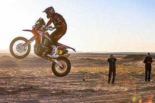 Honda acaricia su primer Dakar desde 1989